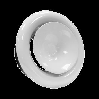 Kovový talířový ventil KKP Ø 125 přívod