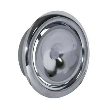 Talířový ventil přívodní KN-S Ø 150 mm - chrom