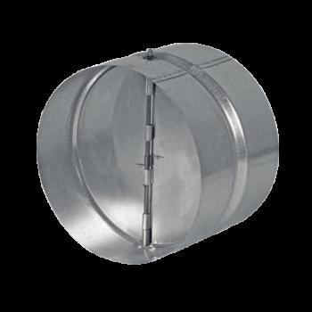 Zpětná klapka s pérkem DN 100 / spojka
