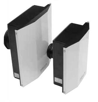 Venkovní nástěnný ventilátor S&P SWF-150 X