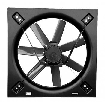 Nástěnný axiální ventilátor S&P HCBT/4-900 L-X