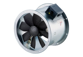 Axiální potrubní ventilátor DZR 40/6 B E Ex e