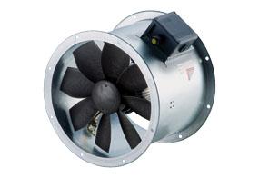 Axiální potrubní ventilátor DZR 45/4 B E Ex e