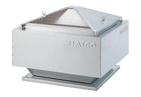 Radiální střešní ventilátor DRD 25/64 B