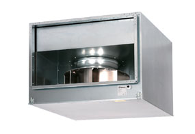 Odhlučněný kanálový ventilátor MAICO DSK 35/4