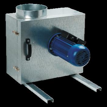 Odhlučněný potrubní ventilátor Vents KSK 250 4E