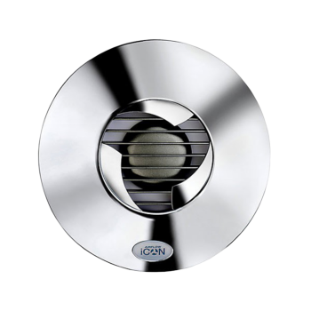 Koupelnový ventilátor ICON 15 chromový