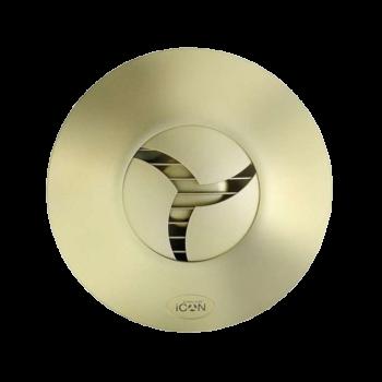 Koupelnový ventilátor ICON 30 zlatý