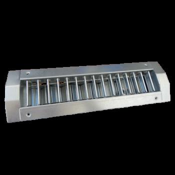 Vyústka jednořadá s regulací 325x75 mm