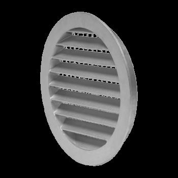 Mřížka kruhová hliníková se sítem DN 160 mm