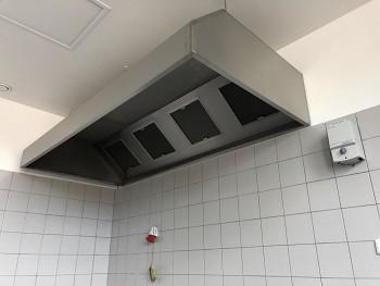 Gastro digestoř nástěnná 2500x800x450/400