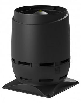Vilpe ECO200S FLOW + montážní deska 400x400, černá RAL 9005