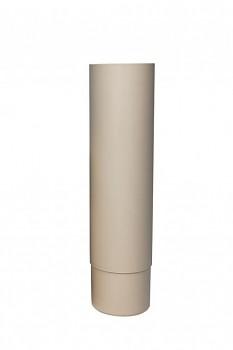 ROSS svislá trubka Ø 160 mm, světle šedá RAL 7040