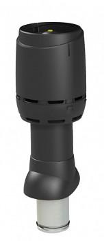 Odvětrávací potrubí FLOW izolované 160P/IS/500, černá RAL 9005