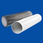 KULATÉ PVC POTRUBÍ A IZOLACE Ø 150 mm